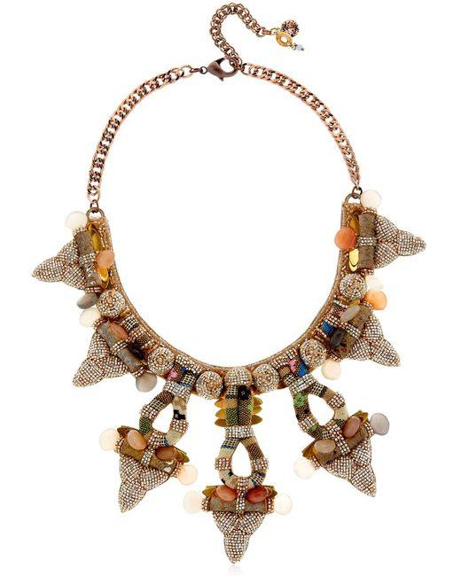Deepa Gurnani | Multicolor Lyanna Necklace | Lyst