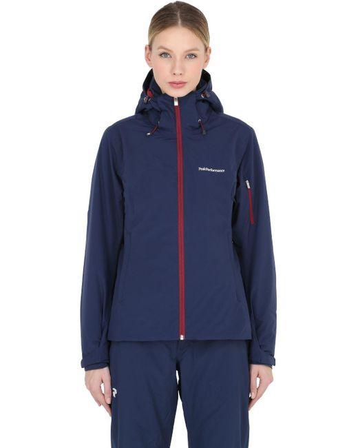 Peak Performance | Blue Anima Hipe Core + Ski Jacket | Lyst