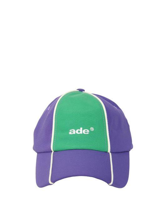 ADER ERROR - Green Nylon Baseball Hat - Lyst