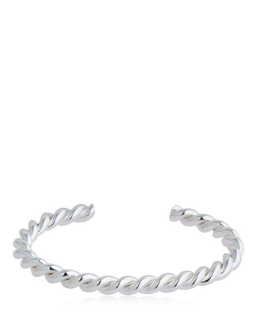 Isabel Lennse - Metallic Twisted Bracelet - Lyst