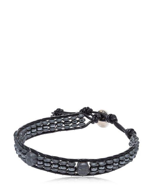 Colana   Black Hematite Buddha Bracelet   Lyst