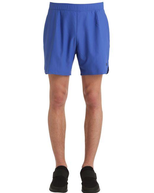 "Nike - Blue Pantalones Cortos ""court X Rf"" for Men - Lyst"