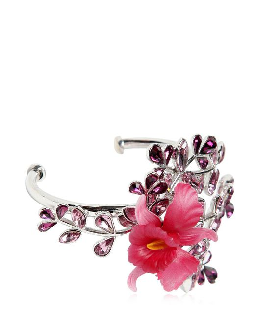 DSquared² | Pink Secret Garden Bracelet W/ Crystals | Lyst