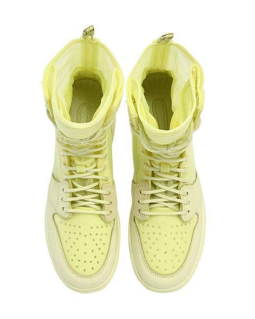 d6f17083b5f1a3 Nike - Yellow Air Jordan 1 Explorer Xx Sneaker Boots - Lyst .