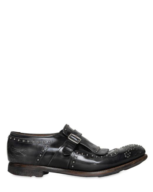 "Church's - Gray Zapatos ""shanghai"" De Piel Pulida for Men - Lyst"
