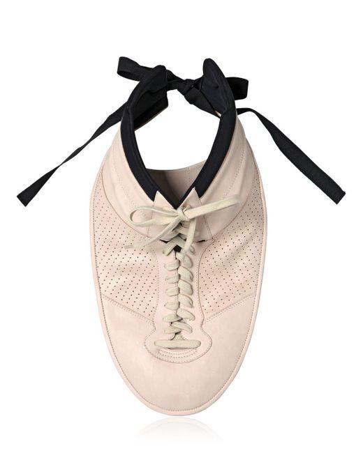 Maison Margiela | White Plastron Sneaker Necklace | Lyst