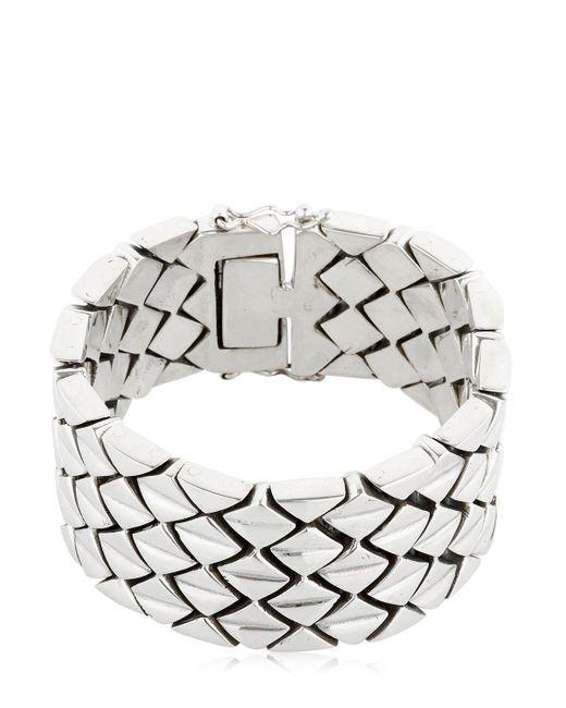 KD2024   Metallic M3n Sterling Silver Bracelet for Men   Lyst