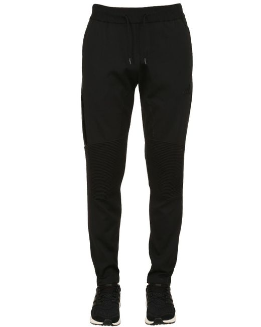 Adidas Originals - Black Paul Pogba Knit Pants for Men - Lyst