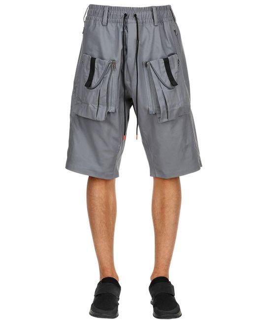 "Nike - Gray Shorts Cargo ""nikelab Acg"" for Men - Lyst"
