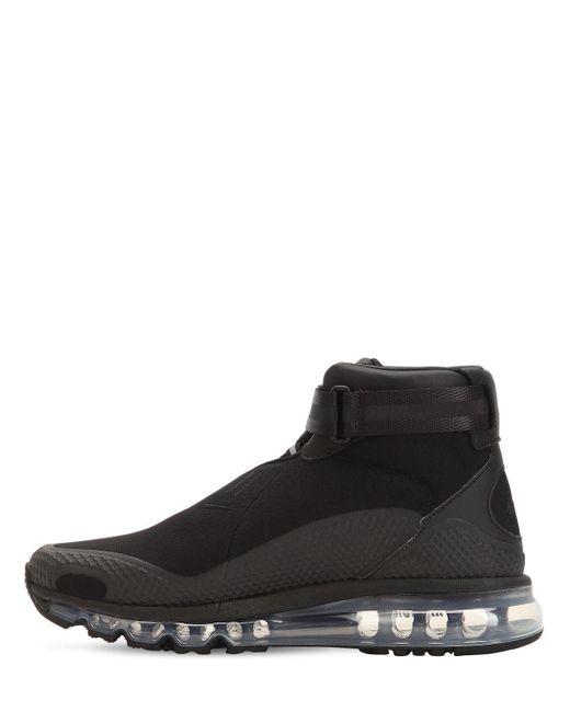 new product 0647f 4dec7 ... Nike - Black Air Max 360 Kim Jones High Top Sneakers for Men - Lyst ...