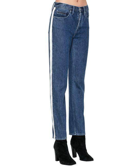 Calvin Klein Jeans   Blue Jeans In Denim   Lyst