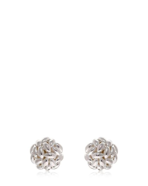 Bea Bongiasca - Metallic Rice Is Life Half Sphere Earrings - Lyst