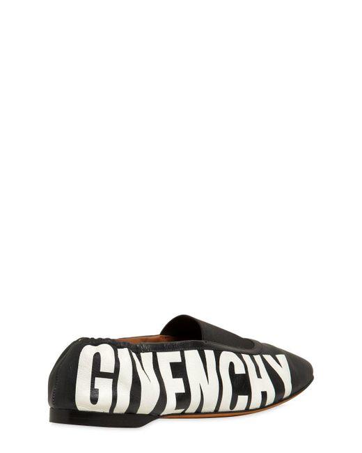 Givenchy 10MM RIVINGTON LEATHER FLATS pkfKd