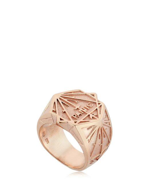 Meadowlark - Metallic Panic Chevalier Ring for Men - Lyst