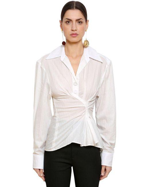 Jacquemus - White La Chemise Maceio Shirt - Lyst