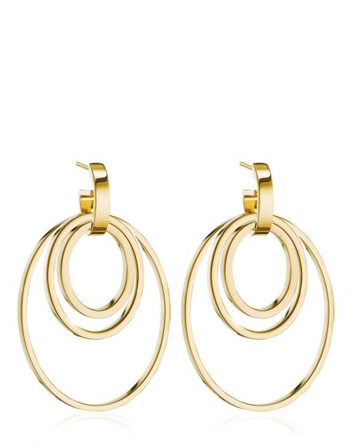 Vita Fede - Metallic Cassio Ring Pendants Earrings - Lyst