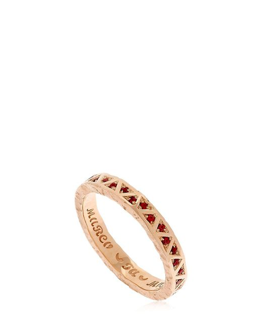 MARCO DAL MASO - Metallic Manawa Ring - Lyst