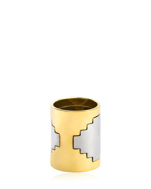 Monica Sordo - Metallic Empire Ring - Lyst