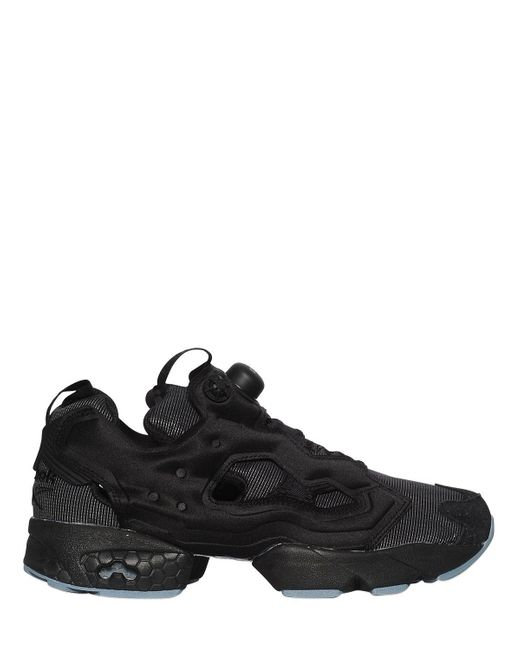 "Reebok - Black Sneakers Aus Nylon ""instapump Fury"" for Men - Lyst"
