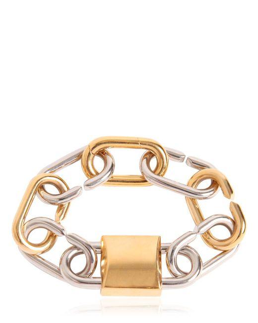 Alexander Wang | Metallic Broken Link Lock Bracelet | Lyst