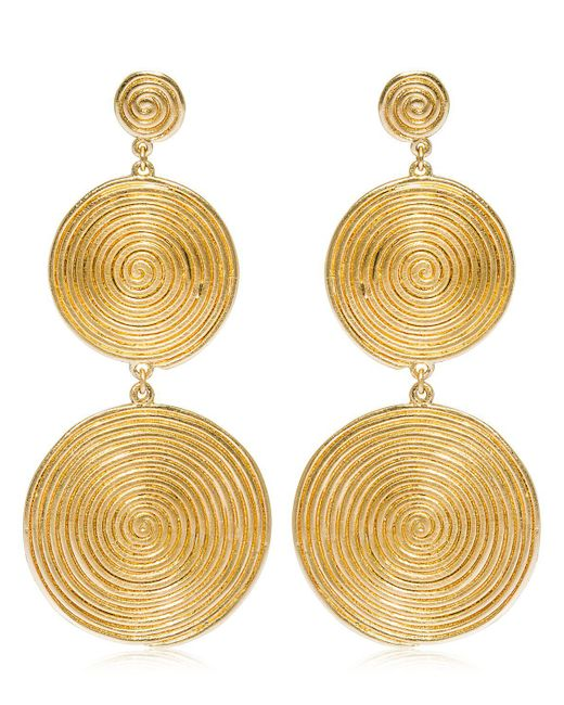 Elizabeth and James - Metallic Lorelai Earrings - Lyst