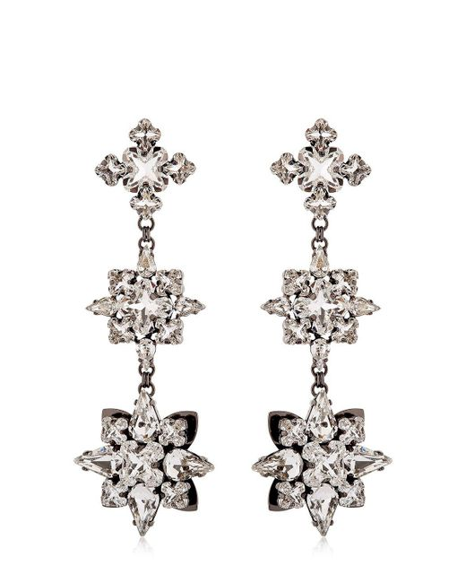 Ellen Conde | Metallic Brilliant Jewelry Crystal Earrings | Lyst