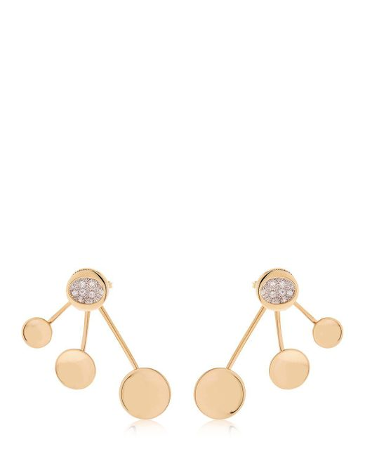 Antonini - Metallic Atolli 3 Elements Earrings - Lyst