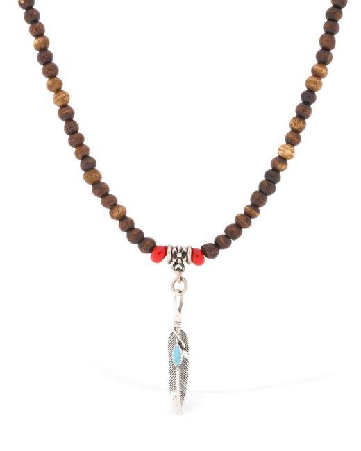 "Cantini Mc Firenze - Multicolor Collar ""native Bone"" De Cuentas for Men - Lyst"