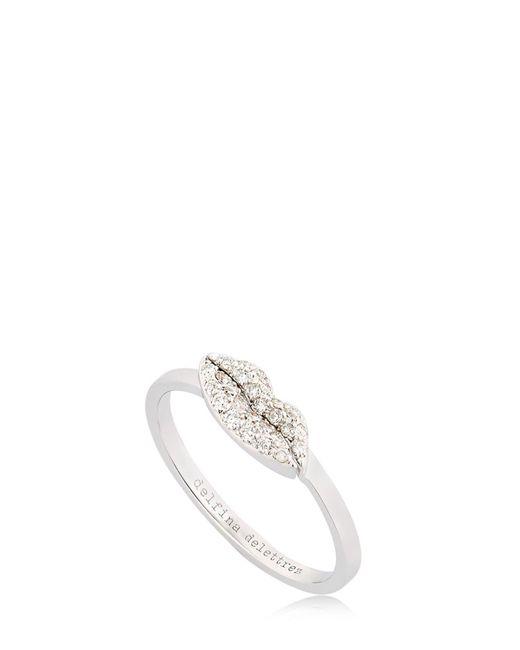 Delfina Delettrez | White Kiss Me Diamond Ring | Lyst