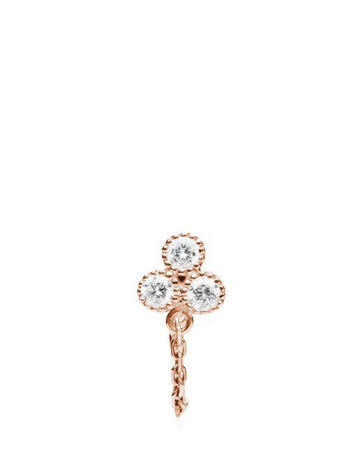 Stone Paris - Metallic Delicate Mono Earring - Lyst