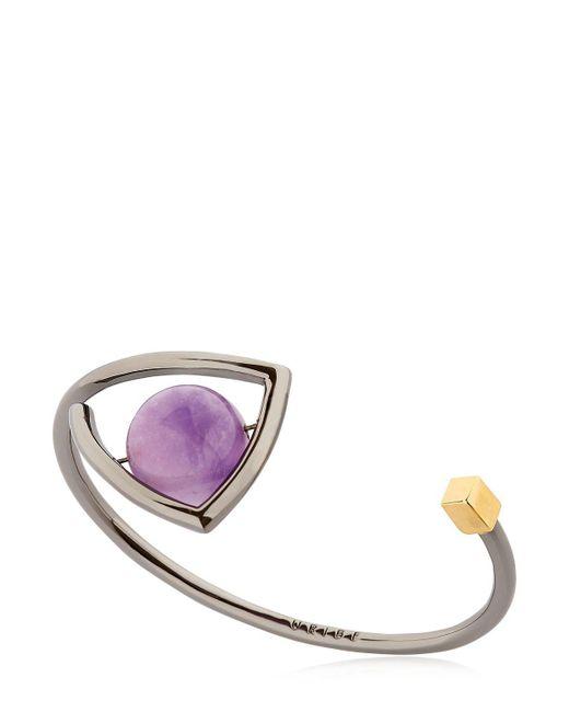 Uribe - Purple Ray Bracelet - Lyst