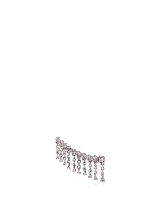 Stone Paris   White Talitha Lobe Mono Earring   Lyst