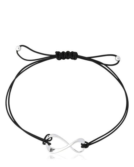 Montblanc   Black Infinity Cord Bracelet   Lyst