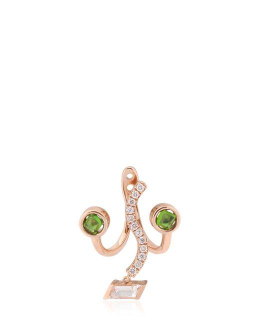 Ruifier | Green The Violetta Mono Earring | Lyst