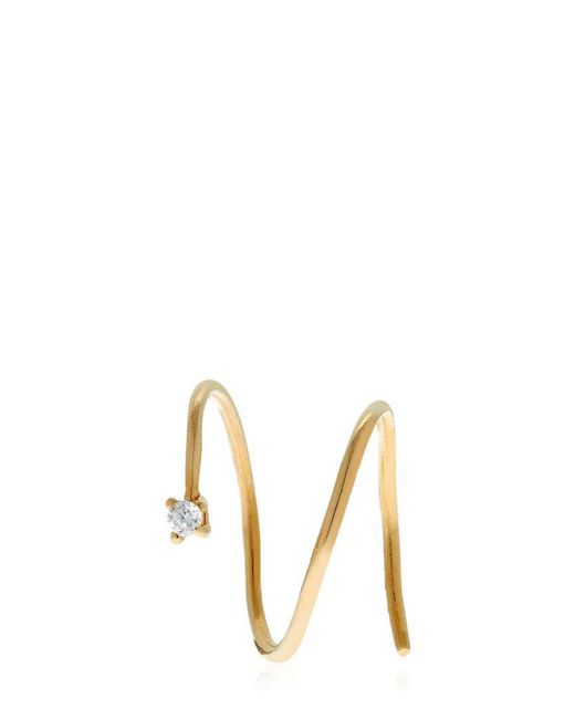 MARGOVA JEWELLERY | Metallic Yay Mono Earring | Lyst