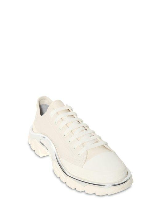 best website 642f7 617cf ... Adidas By Raf Simons - White Rs Detroit Runner Sneakers for Men - Lyst  ...