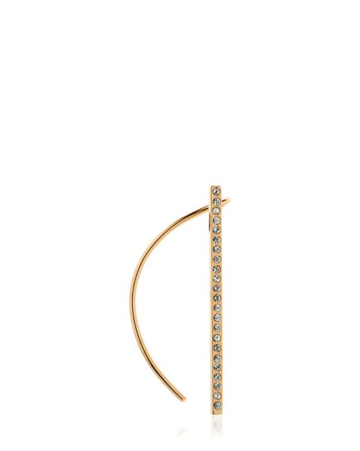 Kim Mee Hye | Metallic Foyer Line Total Crystals Mono Ear Cuff | Lyst