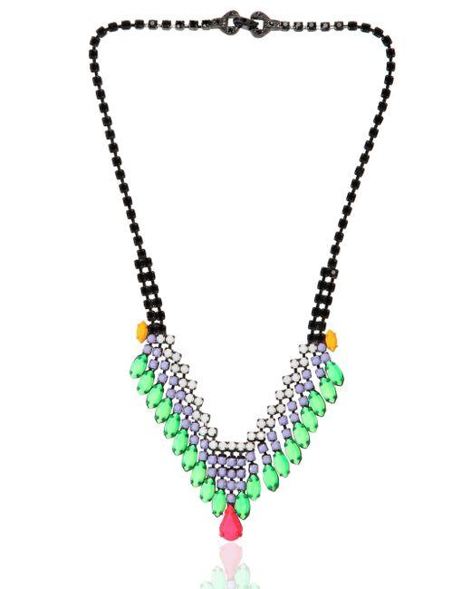 Tom Binns | Multicolor Electro Clash Nova Necklace | Lyst