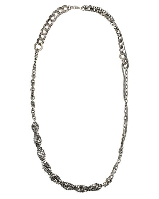 Tom Binns | Blue Calamity Chain Necklace | Lyst