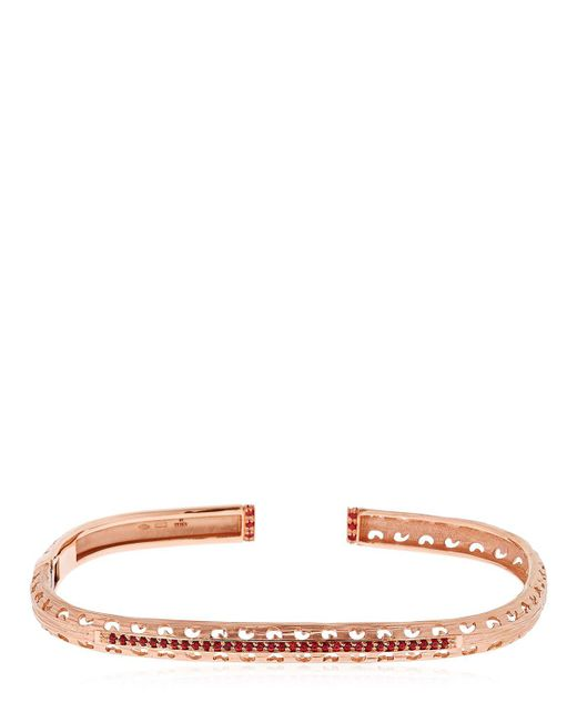 MARCO DAL MASO | Pink The Warrior Bracelet | Lyst