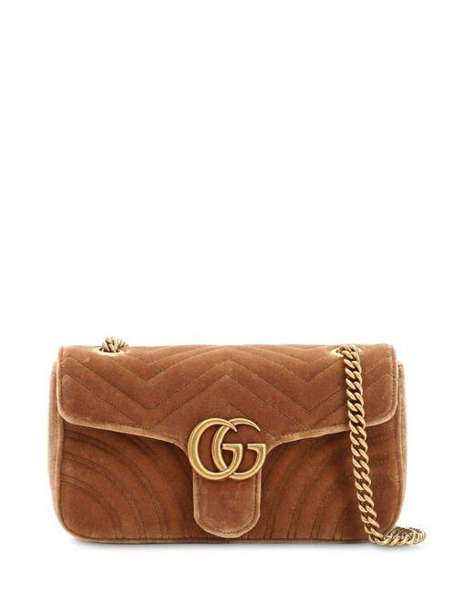 4eee483dc49227 Gg Marmont Velvet Shoulder Bag Sale | Stanford Center for ...