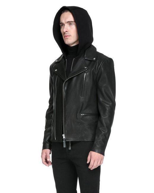Mackage Black Friday Sale | Mike Sleek Leather Biker Jacket With ...