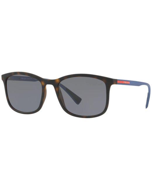 Prada - Gray Sunglasses, Ps 01ts - Lyst