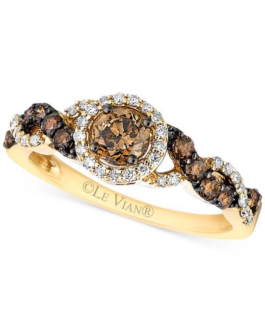 Le Vian | Metallic Diamond Ring (3/4 Ct. T.w.) In 14k Gold | Lyst