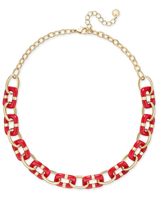 Charter Club | Colored-link Statement Necklace | Lyst