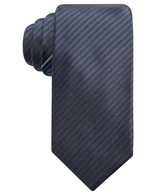 Alfani | Blue Men's Stripe Slim Silk Tie, Created For Macy's for Men | Lyst