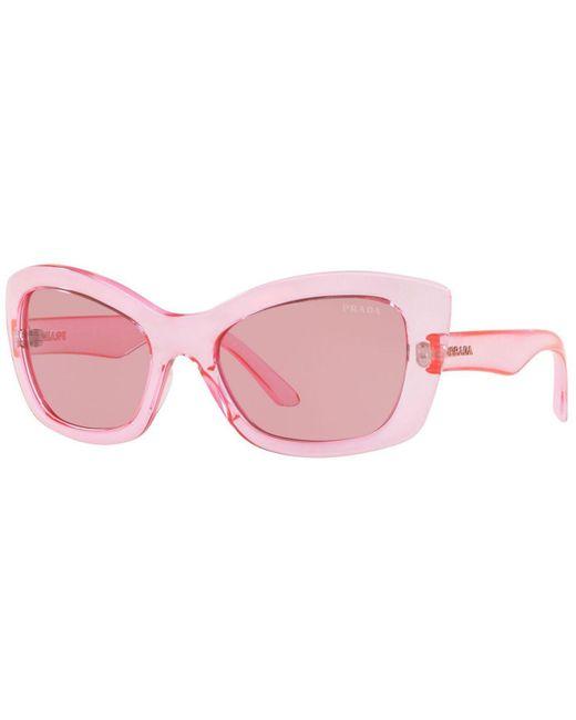 507d0fd34c486 Prada - Pink Sunglasses