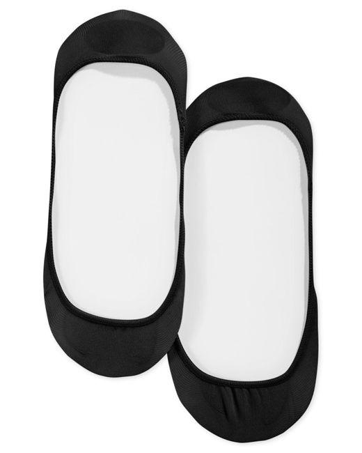 Hue - Black Perfectly Bare Hidden Sheer Sock Liner - Lyst