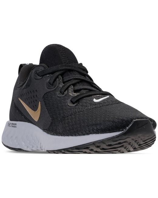 Nike - Black Legend React Running Sneakers From Finish Line - Lyst