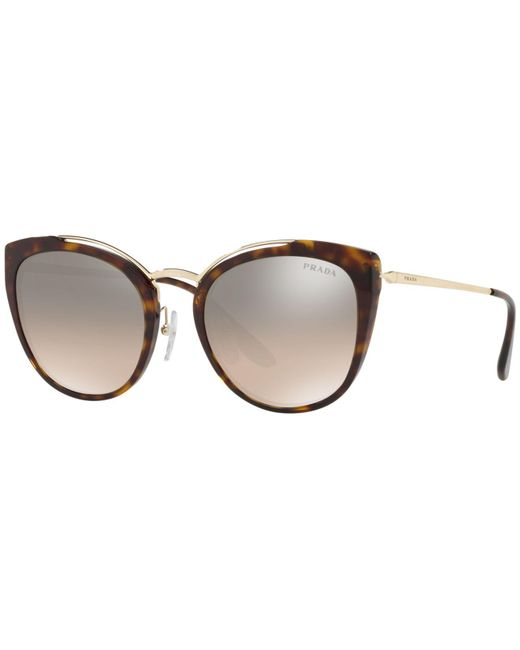 Prada - Brown 54mm - Lyst